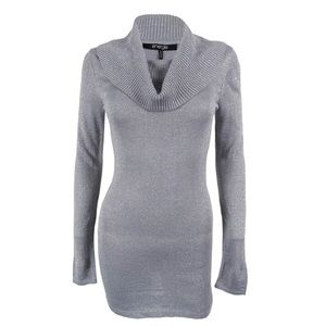 Sparkly Long sleeve Sweater Dress / Tunic